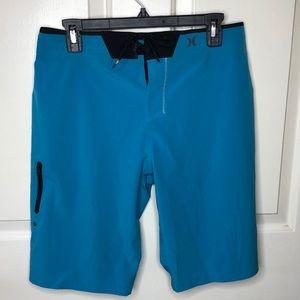 Hurley Phantom Men's Shorts Color Blue Small/Med
